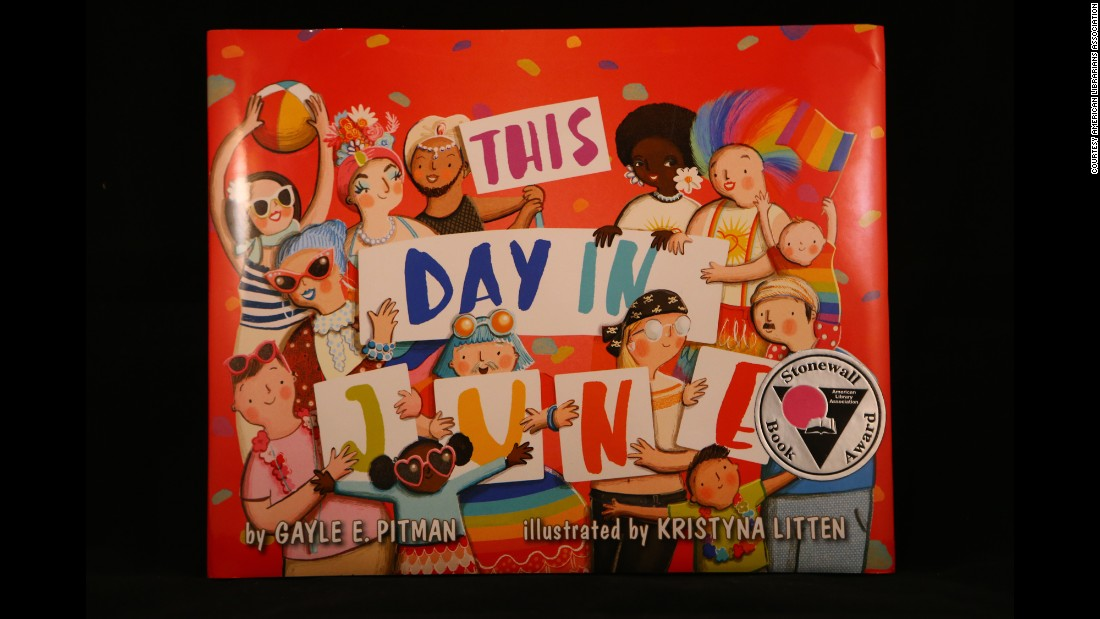 """This Day in June,"" written by Gayle E. Pitman, Ph.D. and illustrated by Kristyna Litten, is the winner of the 2015 Stonewall Children's & Young Adult Literature Award."