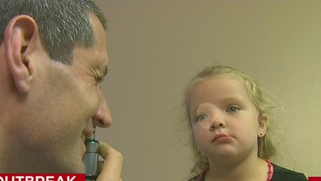 Doctors struggle to treat unvaccinated kids