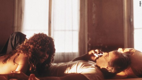 "Marlon Brando and Maria Schneider in ""Last Tango in Paris"""