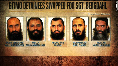 starr taliban five freed for Bergdahl