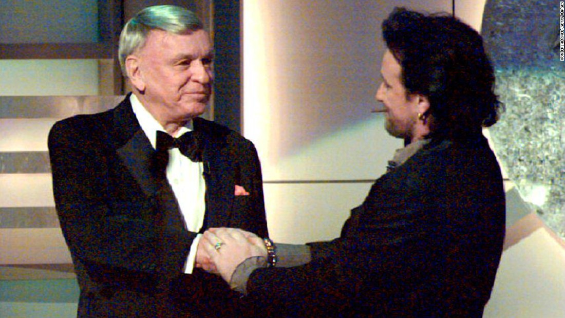 "Frank Sinatra made an interesting choice in selecting U2's Bono to sing ""I've Got You Under My Skin"" for the chairman of the board's 1993 album, ""Duets."""
