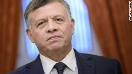 Jordan's King Abdullah: ISIS is enemy number one