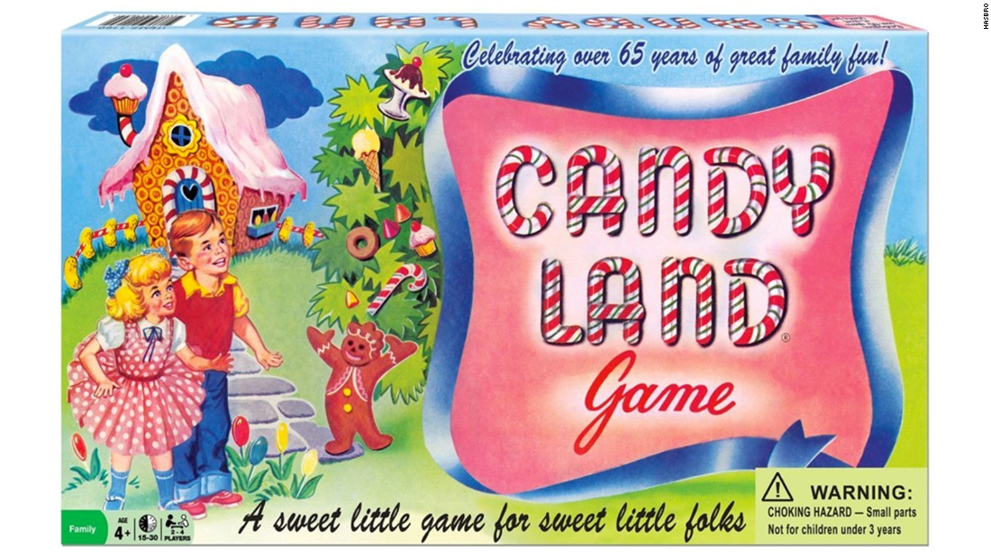 Candy Land was introduced in the 1940s and is intended for young children.
