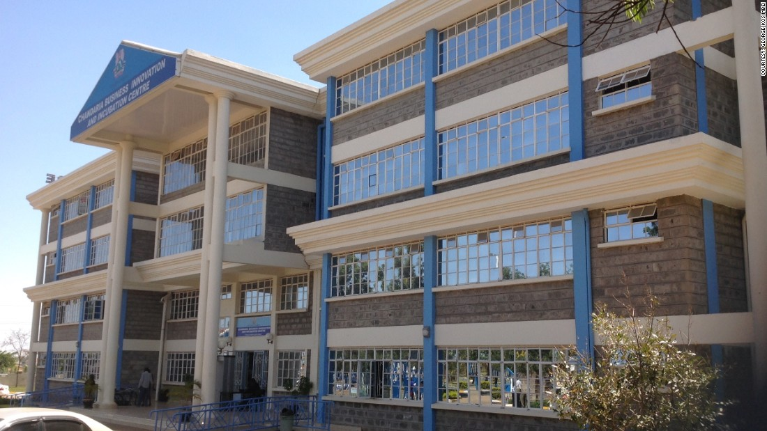"The city is home to university innovation centers, such as the Chandaria Business Innovation and Incubation Center at Kenyatta University. The institute was founded by leading Kenyan industrialist, Manilal Chandaria, and seeks to train people to become job creators rather than job-seekers. ""We are thinking through the challenges we have, like mortality in children, for example. Its amazing to see young people engaging with these issues and searching for solutions about such global issues,"" says George Kosimbei, the director of the institute."