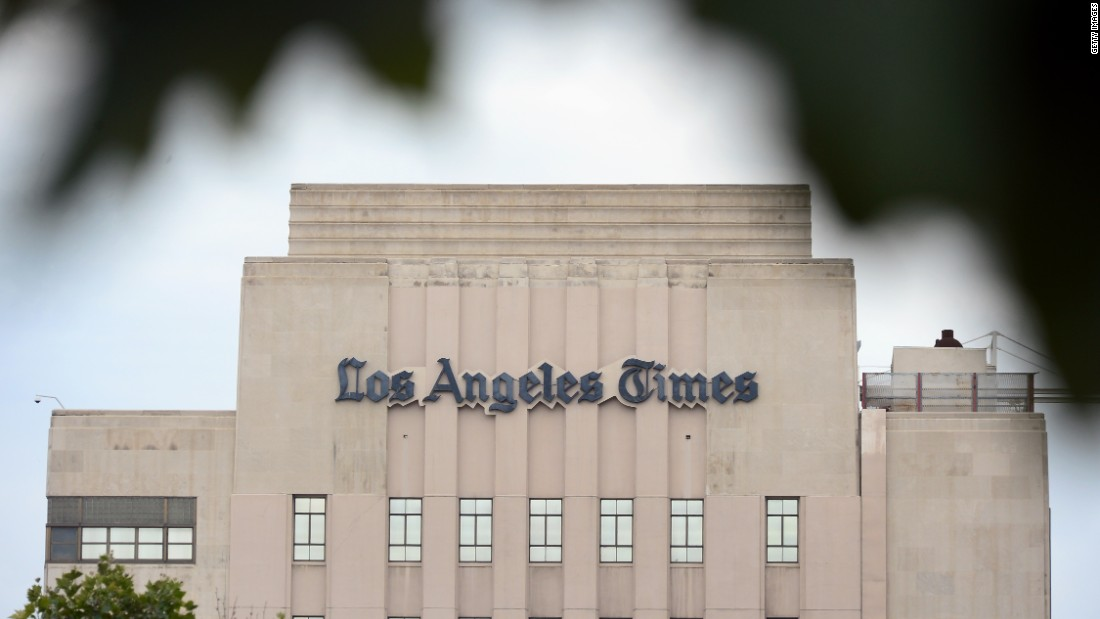 The L.A. Times was the first major newspaper to publish a story entirely created by a computer program: it was an earthquake report published a mere three minutes after the event, in 2012.
