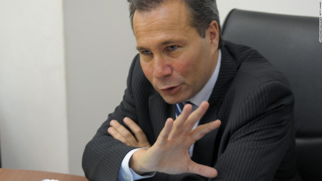 Special prosecutor Alberto Nisman was investigating the 1994 AMIA terror attack. In January, he filed a report alleging that Argentina's President, among other powerful figures, covered up Iran's role in the plot. He was found dead days later.
