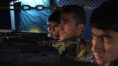 Kurdish Peshmerga fighters have been battling ISIS.