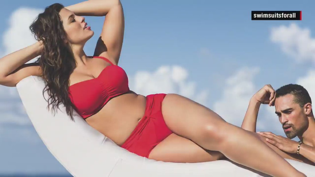 Plus-size models give SI's swimsuit edition more curves