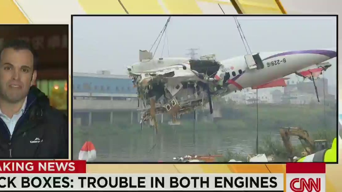Agency: Problems with both engines before TransAsia crash in Taiwan