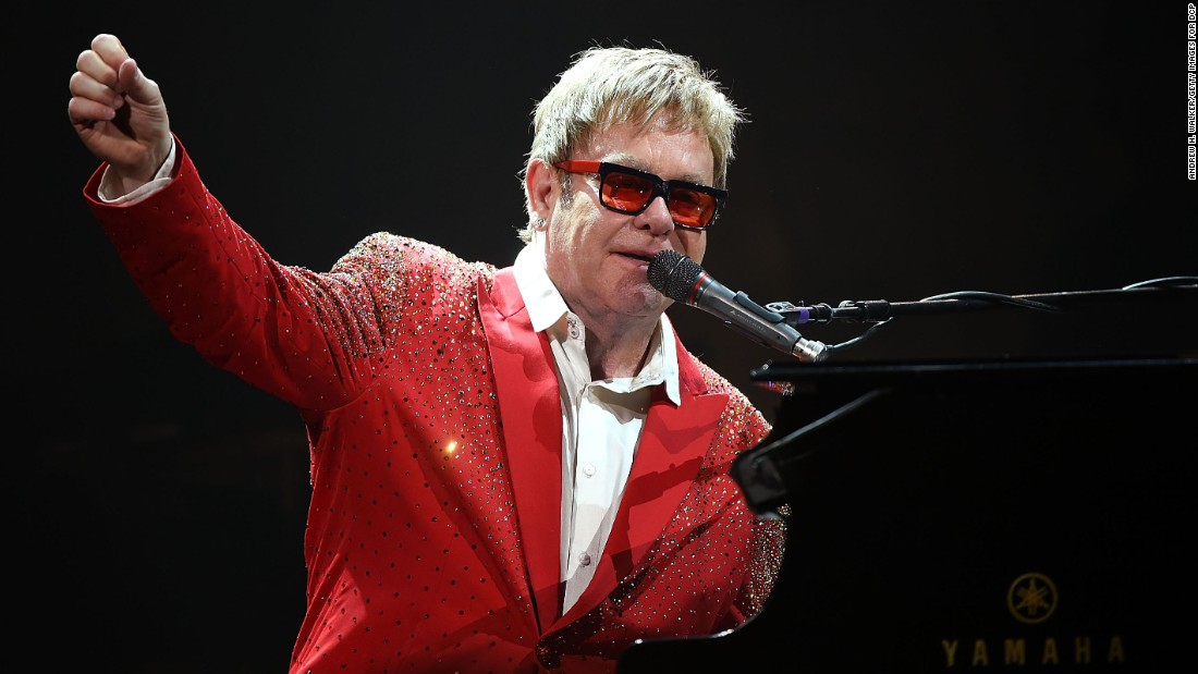 "Elton John penned a blog for the Huffington Post in May that said, ""It is all the more disturbing, then, to realize that one of the places we most love is owned by a man who is at the forefront of this renewed and horrifying homophobia."""