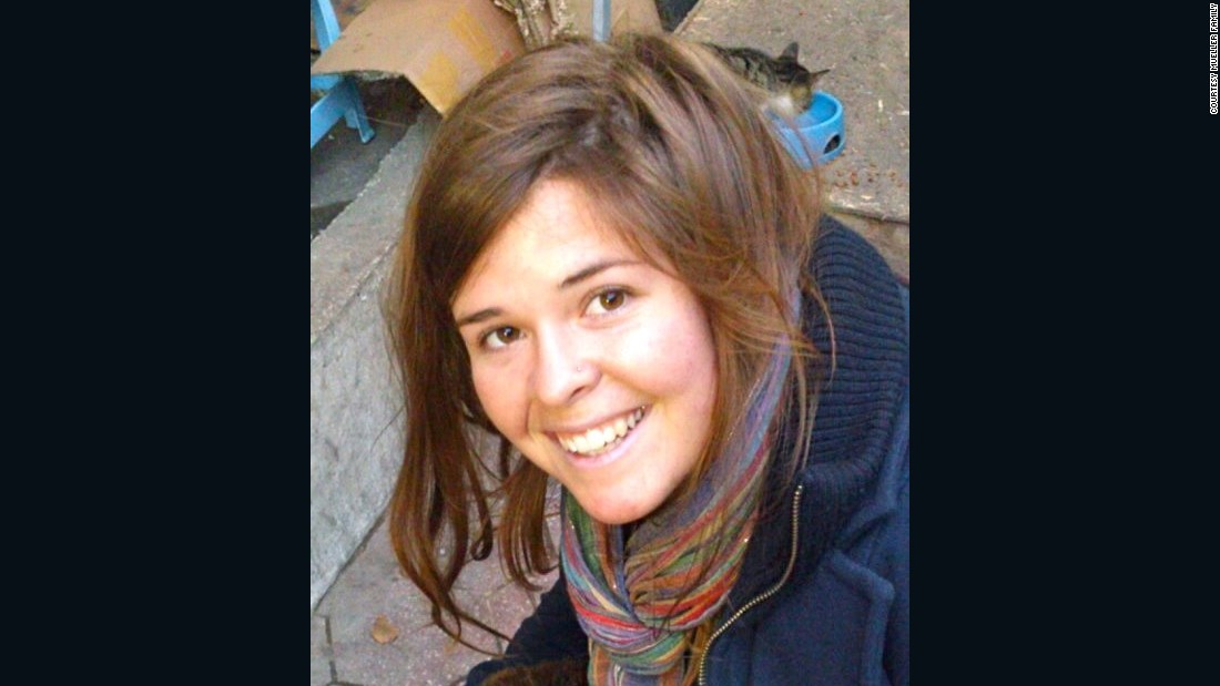 American ISIS hostage Kayla Mueller dead, family says