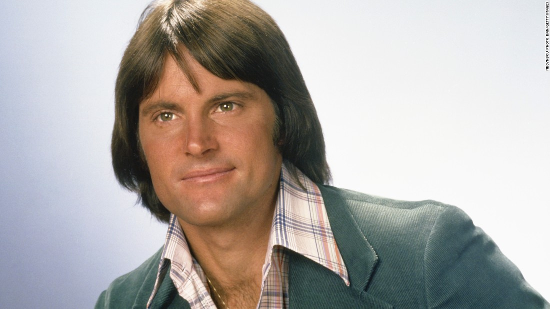 Jenner poses for a portrait in 1976.