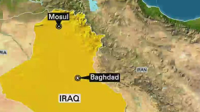 new day black iraq isis mosul airstrikes_00000000