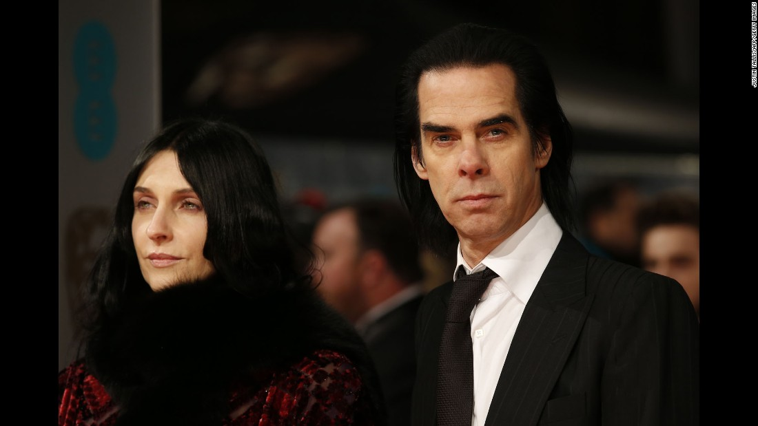 Nick Cave and his wife, Susie Bick