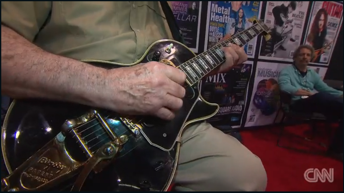 How high the bids? Les Paul's prototype electric guitar to be sold