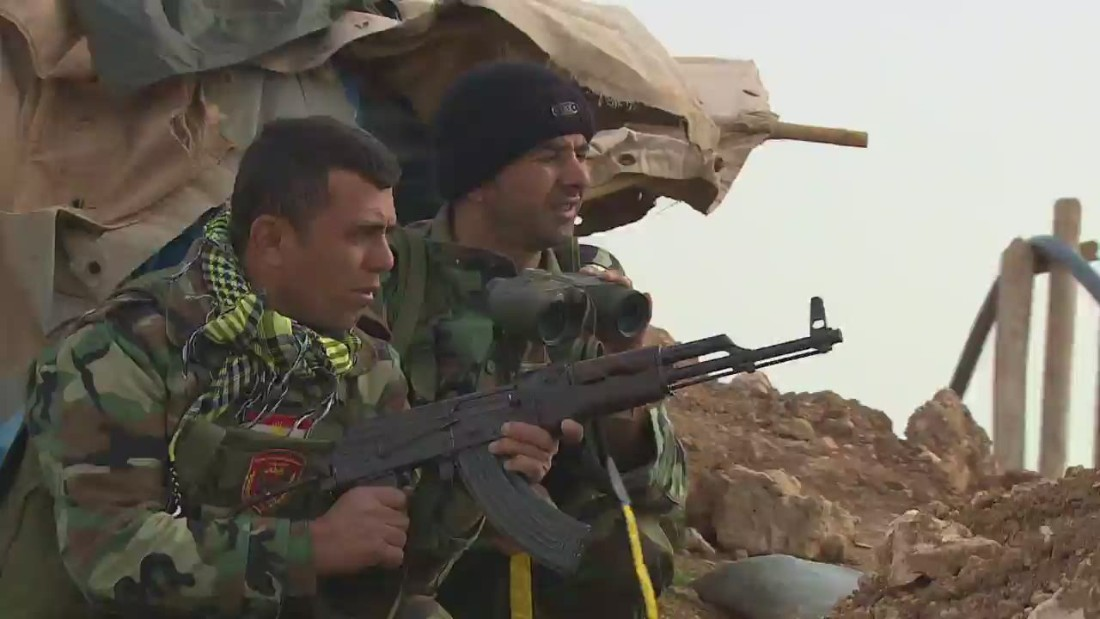 Kurds battle lack of equipment and ISIS