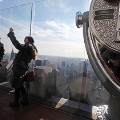selfies top of the rock