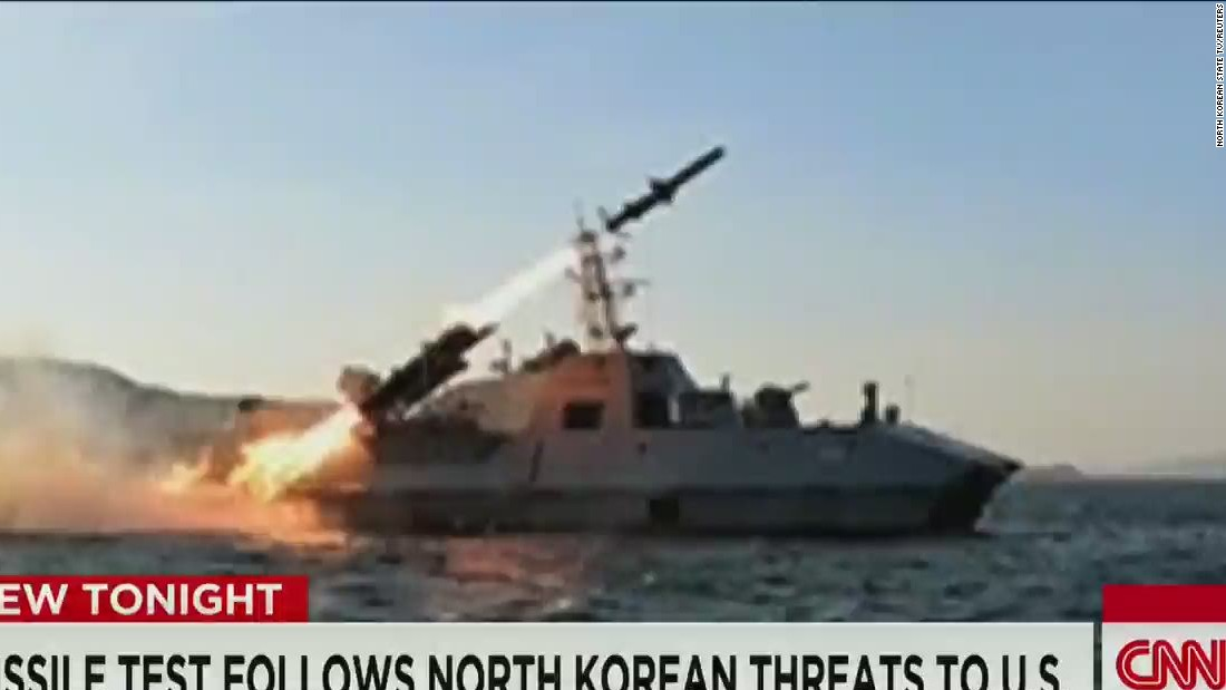 North Korea flaunts its 'cutting-edge' missiles