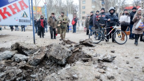 Kramatorsk shelled day before peace talks set to begin
