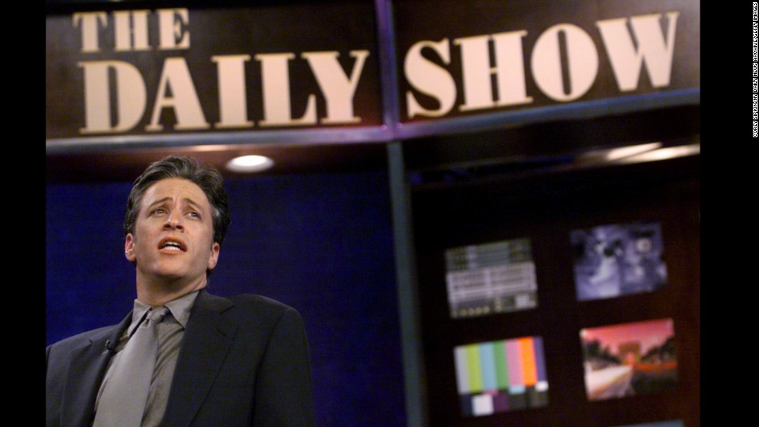 "For more than 15 years, Stewart made ""The Daily Show"" must-see TV by injecting humor and witty criticism into his coverage of current events."