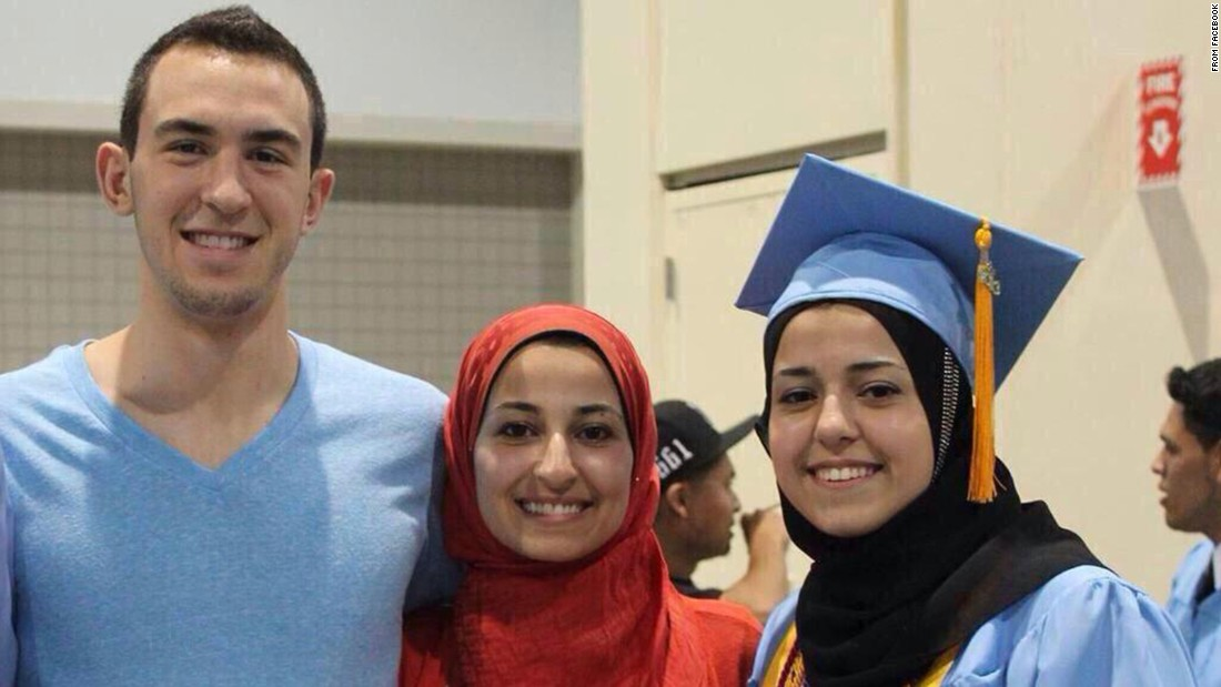 3 slain college students strived for a better world
