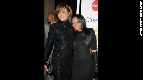 Whitney Houston and Bobbi Kristina Brown, in 2011, were extremely close.