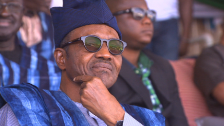 Buhari speaks to CNN's Amanpour