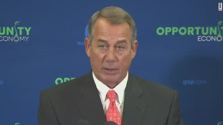 Boehner: Obama's with 'anarchists' on Keystone pipeline