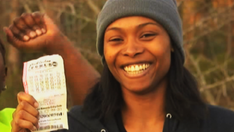 single women in jackpot The single mother got so fed up with trying to make ends meet that she decided  to  marie couldn't believe that she had won the lottery jackpot.