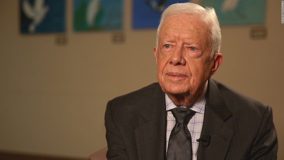 Jimmy Carter: Women's rights the fight of my life