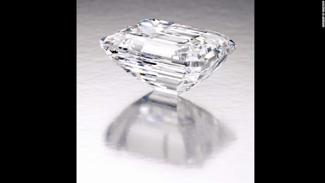 The 100-carat diamond will go on a worldwide tour before going up for auction in New York.