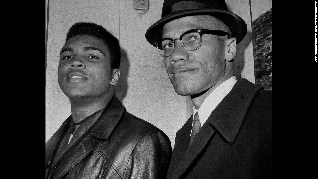 Malcolm X was also Muhammad Ali's mentor and spiritual guide.