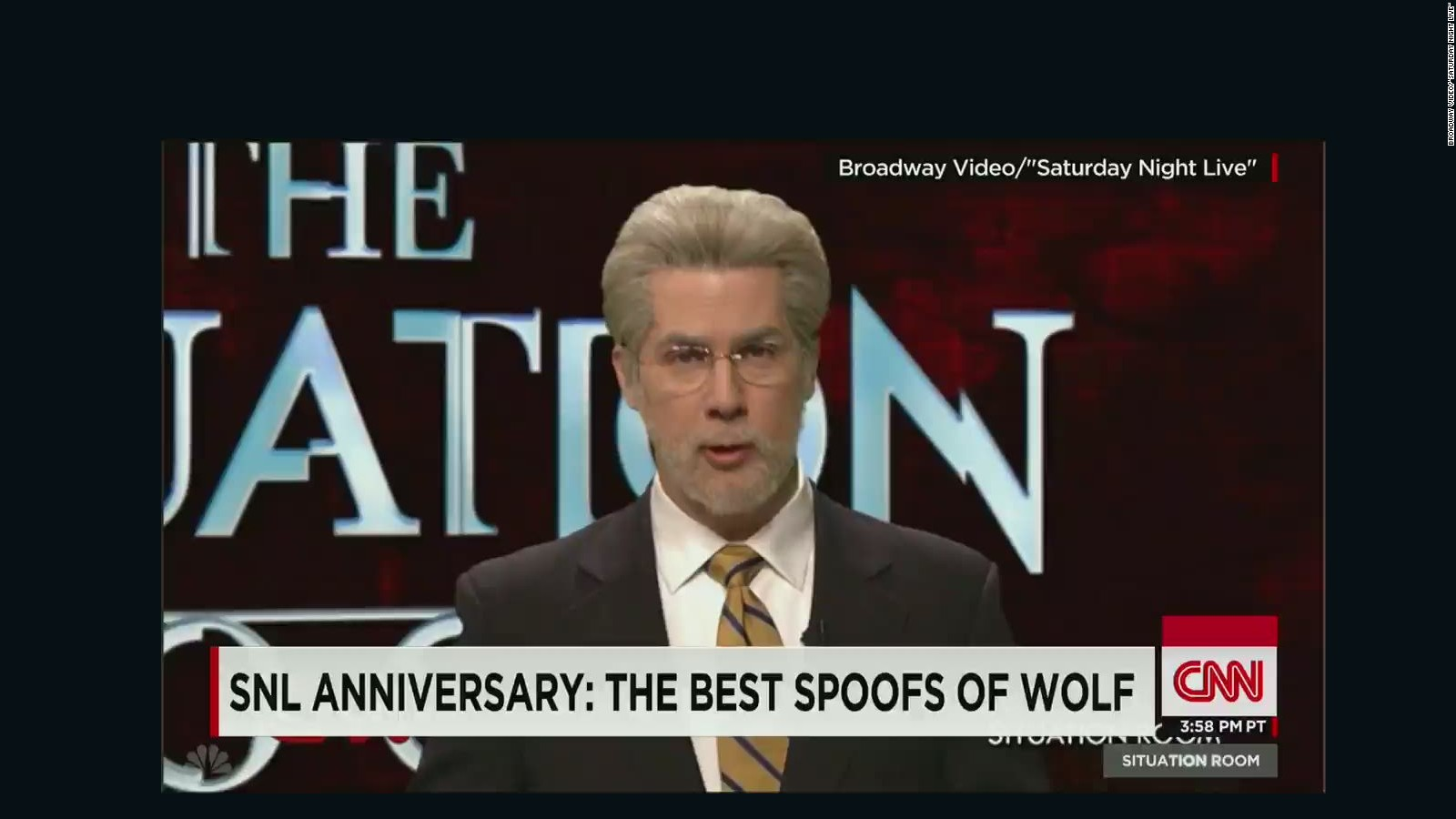 U0027SNLu0027su0027 Best Spoofs Of Wolf Blitzer   CNN Video