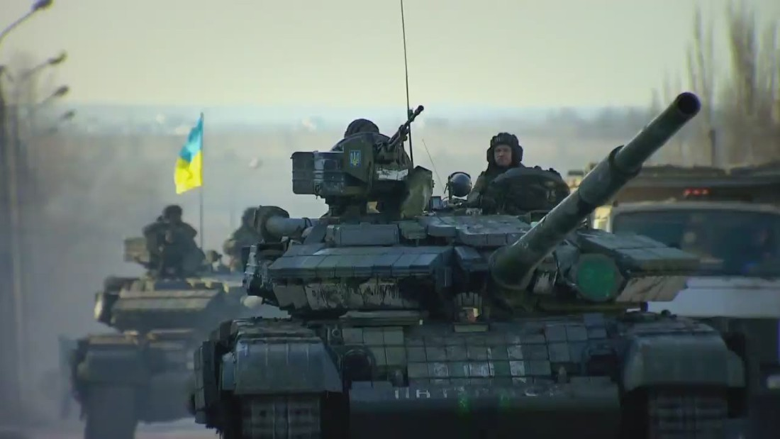 Ukrainian ceasefire goes into effect