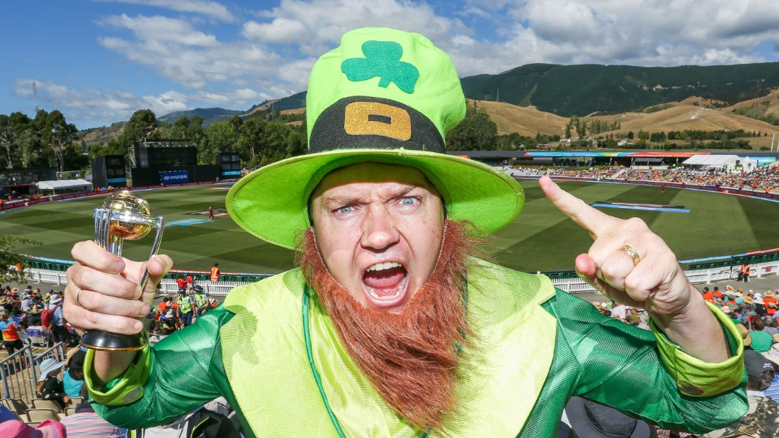 Ireland sparked wild celebrations in Nelson, New Zealand, as they pulled off the first shock of this Cricket World Cup against West Indies.