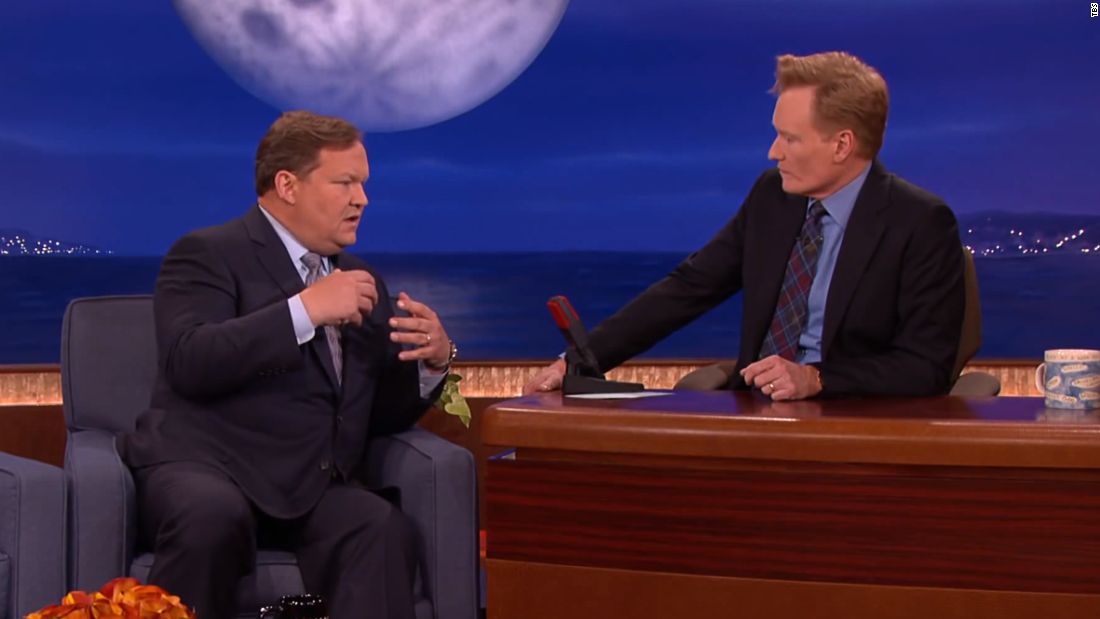 "Conan was taping his show in August 2014 when he received word that actor Robin Williams had died. The next night he and Andy Richter paid tribute to<a href=""https://www.youtube.com/watch?v=b_6wYQC9n3U"" target=""_blank""> ""the best talk show guest in the world</a>."""