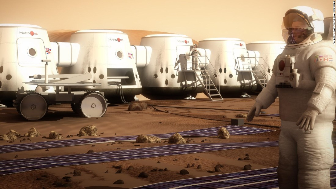 Mars One: 'We're all going to die, but it's important what you do before you die'
