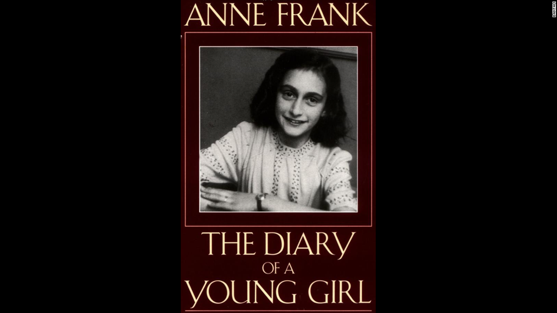 """The Diary of Anne Frank"": The slender book remains one of the most revealing, and heartbreaking, works in literature -- a first-person story of a Jewish girl hiding from Nazis in Amsterdam during World War II. She perished in a concentration camp, but the book is testament to her lasting humanity."