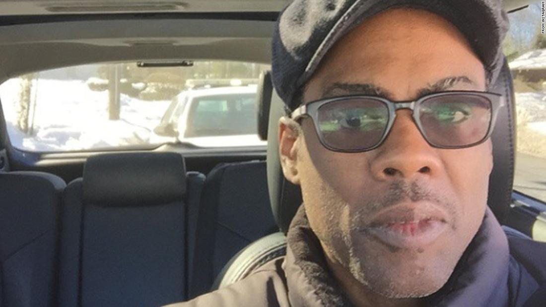 'Wish me luck': Chris Rock posts selfies of police stops