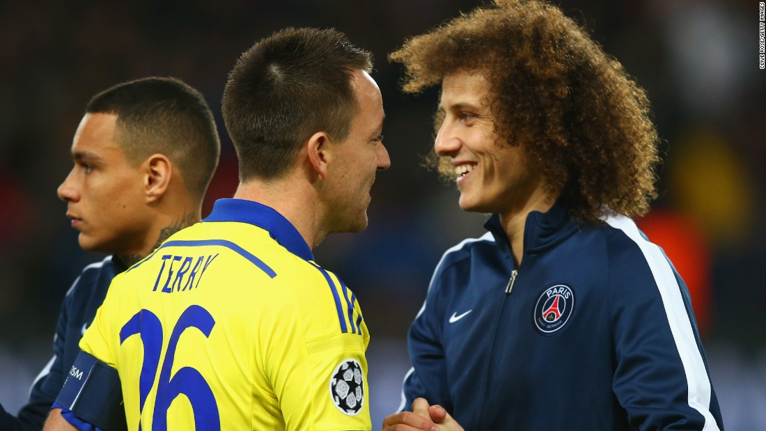 David Luiz spent three years with Chelsea, and was part of the squad that won the Champions League in 2012, but turned down a new contract to join PSG for a fee of around $76 million.