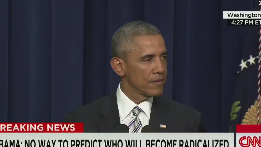 Obama proclaims: 'We are not at war with Islam'