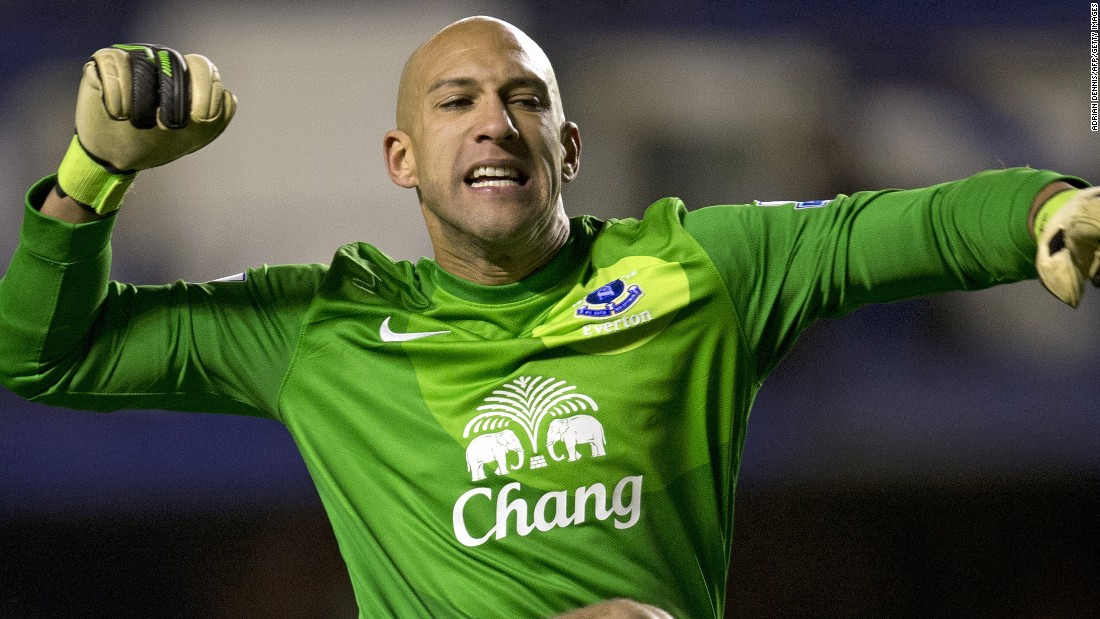 Howard has been one of the Premier League's most consistent keepers since he made the move from Manchester United.