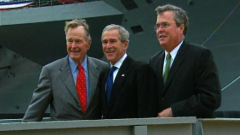Jeb wants to step out of the Bush family shadow