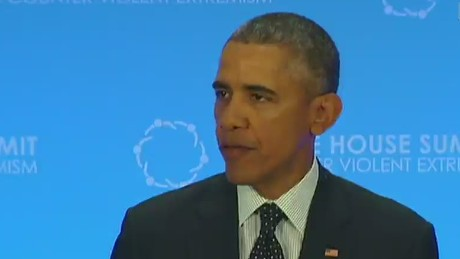 Obama: We can't waver in fight against terrorist groups