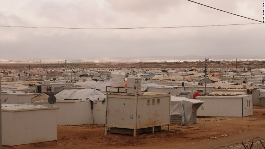 Zaatari is home to more than 83,000 refugees, which makes it one of the world's largest refugees camps and essentially the fourth largest city in Jordan, according to the United Nations.
