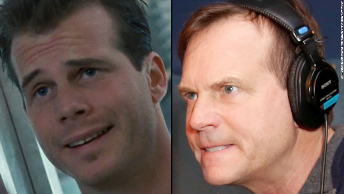 "Bill Paxton provided some rare comic relief as voluble soldier Hudson in ""Aliens."" He went on to appear in ""Apollo 13,"" ""Twister"" and several other James Cameron films, including ""True Lies"" and ""Titanic."" He also starred as a polygamist in HBO's ""Big Love."" The actor died in February 2017."
