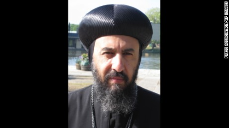 Bishop Angaelos, general bishop of the Coptic Orthodox Church in the UK.