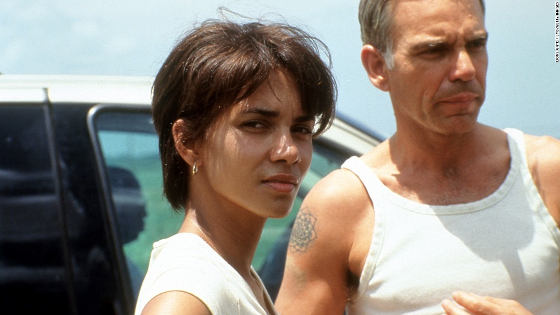 "Halle Berry (shown here with Billy Bob Thornton) won a best actress Oscar for 2001's ""Monster's Ball,"" but didn't exactly burn up the box office thereafter (except in the X-Men films). Her films since include ""Cloud Atlas,"" ""The Call,"" ""Movie 43"" and ""Catwoman,"" for which she won a Razzie for worst actress. She <a href=""https://www.youtube.com/watch?v=U-7s_yeQuDg"" target=""_blank"">came to accept it, too</a>."