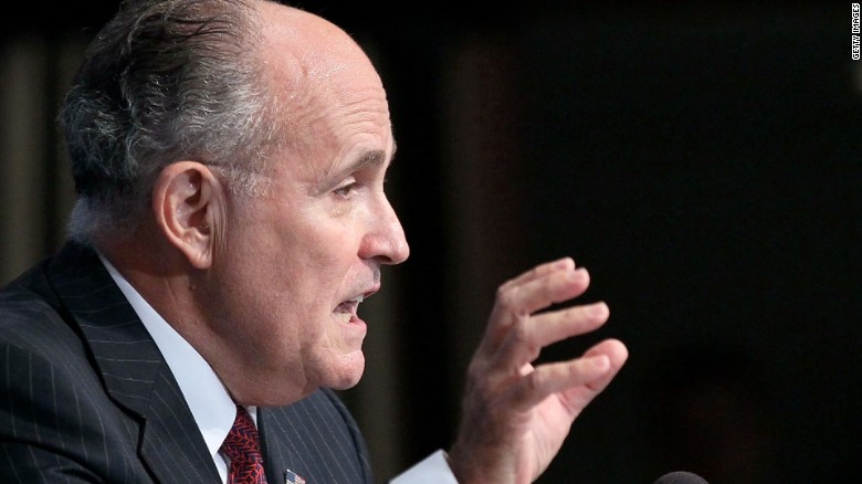 White House calls Giuliani remarks 'sad'