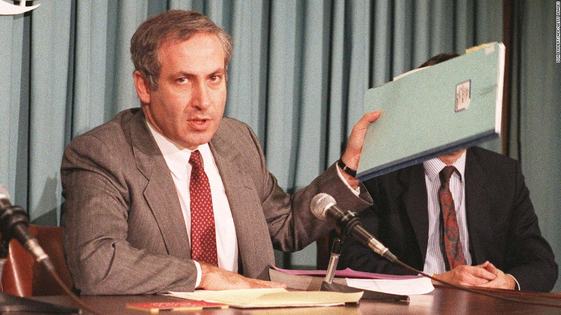From 1984 to 1988, Netanyahu was Israel's ambassador to the United Nations.